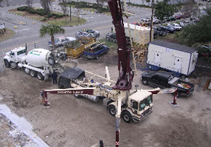 Concrete Contractors in Terrytown, LA - Concrete Equipment